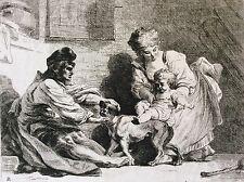 Dominique Vivant DENON (1747-1825) Homme et femme jouant avec un enfant