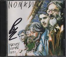 """NOMADI - CD EDITORIALE CON AUTOGRAFO BEPPE CARLETTI """" GENTE COME NOI """""""