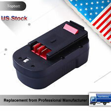 3.0Ah Replacement for Black & Decker 18V Battery Cordless Tools HPB18 HPB18-OPE