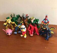 Vintage 2000 Bandai Digimon Metalgarurumon figura plástica 5cm largo Matt