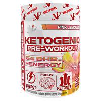 VMI Ketogenic Pre-Workout Keto Paleo Weight Loss Powder 20 Serves 2 FLAVORS SALE