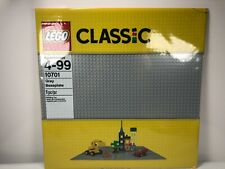 Lego Classic Gray Baseplate 10701 - 48x48 studs - Item 6102280 New (x1)