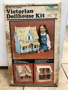 Vintage Greenleaf Victorian Dollhouse Kit No. 8012 The Arthur 1981