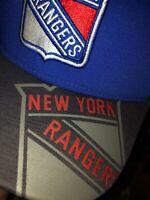 New York Rangers L/XL Hat NHL 2017 Cap Stanley Cup Playoffs Design Hat