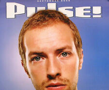 COLDPLAY 2002 PULSE MAGAZINE COVER POSTER