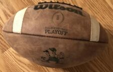 NOTRE DAME FOOTBALL TEAM ISSUED/USED WILSON PLAYOFF FOOTBALL