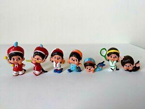 "Vintage Sekiguchi 1979 Japan / Monchhichi / Monchichi PVC 2"" Figures / Bundle"