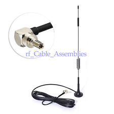 7dbi 3G GSM 4G LTE Antenna Magnetic CRC9 3m for Huawei Modem WiFi Router Booster