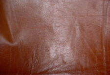 RALPH LAUREN 28.15 SQ FT BOURBON SMOOTH WAXY COWHIDE LEATHER UPHOLSTERY