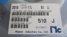 CHIP RESISTOR 51 OHM SMD 5% 1W (NRC50J510TR) ( 3 items)