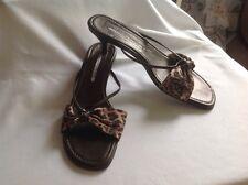 DONALD J PLINER Bronze/Animal Print Sandals, Size 10, NWOB, Nordstrom