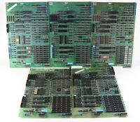 Vintage 1979 LOT of ONYX Z80 Logic II Computer Boards - Parts/Repair Not Tested