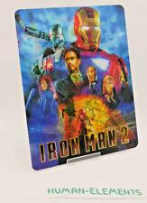 IRON MAN 2 - Lenticular 3D Flip Magnet Cover FOR bluray steelbook