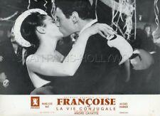 MARIE -JOSE NAT JACQUES CHARRIER LA VIE CONJUGALE 1964 LOBBY CARD ORIGINAL #8