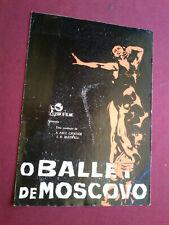 RARE MOSCOW BALLET GALINA ULANOVA PORTUGAL MOVIE PROGRAM