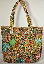 NWT $86 VERA BRADLEY Vera Provencal Large Shoulder Tote Travel Bag Shopper