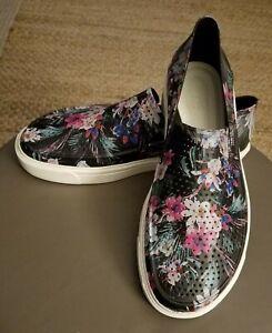 Crocs Women's Floral Slip Ons Size 10W