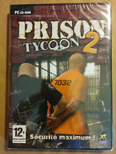 Prison Tycoon 2: Maximum Security Jeu PC ** NEUF **
