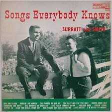 SURATT & SMITH: Songs Everybody Knows AUDIO LAB King Bluegrass Country LP Rare
