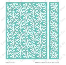 Cuttlebug Embossing Folder ~ FEATHER ILLUSION ~ 5x7 plus Border ~ Anna Griffin