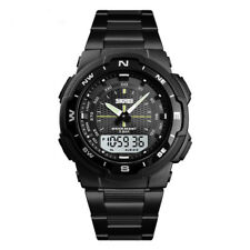 SKMEI Analog Men's Quartz Watch Full Steel Luxury Male Wristwatches 2019
