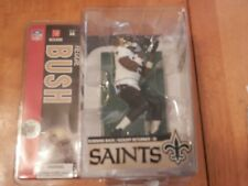 REGGIE BUSH McFarlane Series 14 NFL Sportspicks VARIANT White Jersey Saints