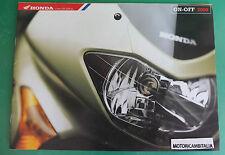 HONDA MOTO TRANSALP VARADEO AFRICA TWIN PUBBLICITA DEPLIANT BROCHURE CATALOG