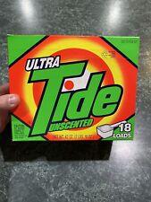 Vintage 1990 Tide Ultra Unscented Laundry Detergent 42oz. **UNOPENED**