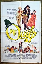 """You can call him Daniel or """"MR. QUILP"""" he is the Hunchback  - Movie poster"""