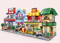 Street View Fast food LOZ BLOCK Mini Building Nanoblock iBlock 1605 a F01