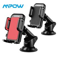 MPOW 360° Car Dashboard Mount Holder Stand Suction Cup Pad for Universal iPhone