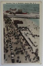 VINTAGE ATLANTIC CITY BOARDWALK NEW JERSEY POSTCARD - UNUSED         (INV15148)
