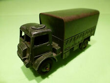 DINKY TOYS 623 BEDFORD QL ARMY WAGON - ARMY GREEN 1:50? - GOOD - MILITARY