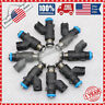 New Set of 8 Fuel Injectors 12613411 Fits for GM Chevy GMC 4.8L V8 2010-2017