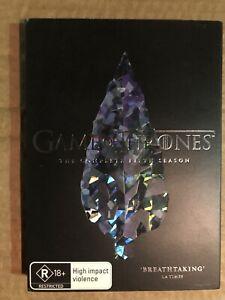 GAME OF THRONES Complete Fifth Season 5 DVD Region 4 R18+