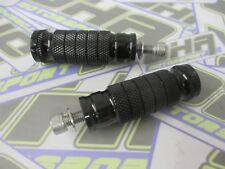 OHA Motorcycle Race Track Rearset Foot Pegs Footpegs - SES Promach M8 - BLACK
