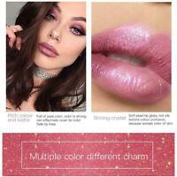 18 COLORS Liquid Matte Minis Liquid Lipstick Diamond Glitter Lip Gloss W3P0