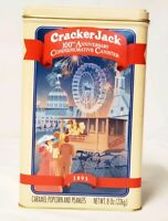 Vtg Cracker Jack Tin can Box 100th Anniversary  1893-1993 Collectible Ltd. Ed.