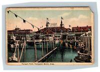 Paragon Amusement Park, Schlitz Palm Garden Nantasket Beach MA c1916 Postcard M3