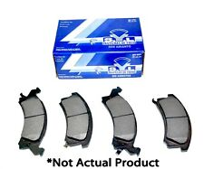 New S.Y.L. Semi Metallic Front Brake Pads D500Sm For Toyota 1991-1996