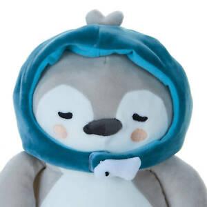 "Crash Landing on You Blue Hat Penguin Plush Doll Official Goods 32cm 12"""
