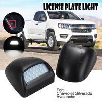 18LED Rear License Plate Light Pair For Chevy Tahoe Suburban GMC Yukon 1999-2014