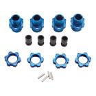 Traxxas 6856X 17mm Wheels Hubs (4), Blue: Slash 4x4,Stampede 4x4