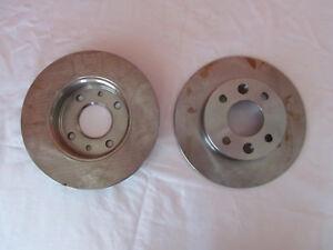 Jeu de 2 disques frein plein neuf Bosch 0986478273 - D7336 Express Clio Twingo