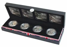 UK 2012 Royal Mint COUNTDOWN TO LONDON OLYMPICS  Silver Proof £ 5 PIEDFORT Set