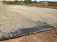 Yuzet Woven Geotextile Weed Control Fastrak Terram Membrane 4.5m x 100m Rolll
