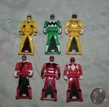 2013-14 Lot of 6  Power Rangers Keys
