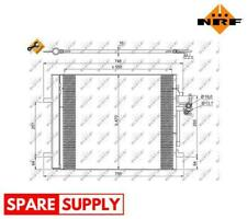 CONDENSER, AIR CONDITIONING FOR LAND ROVER VOLVO NRF 35884