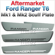 Scuff Plate For Ford Ranger T6 Mk1 Mk2 White LED Light Step Door Sill Trim PX AT