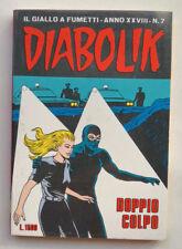 DIABOLIK N° 7 anno XXVIII Astorina 1989